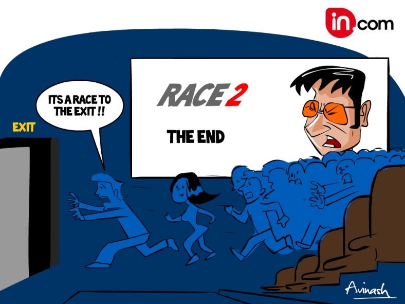 race 2 Talkie toon