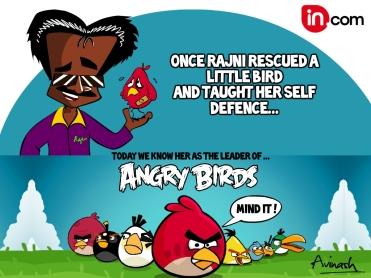 rajni angry birds