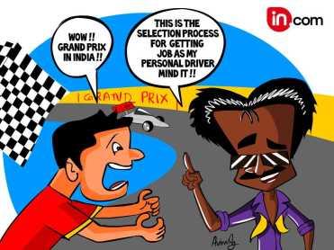 RAJNI f1 RACE