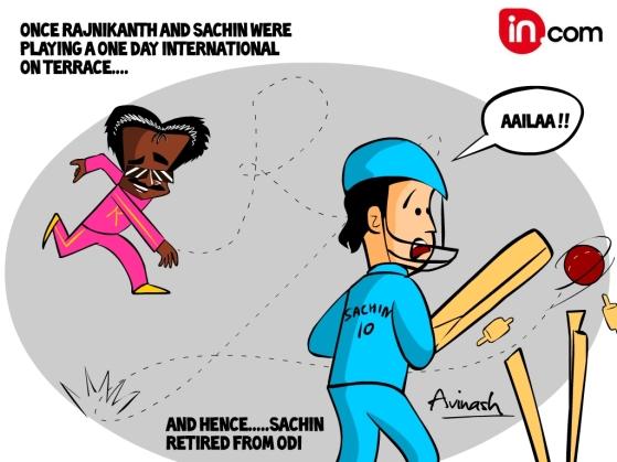Sachin retired